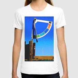 Delta Wind Gauge for Kite Boarders T-shirt