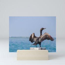Wing Man! Mini Art Print