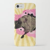 bull iPhone & iPod Cases featuring Bull by Jean-Michel Lopez