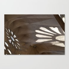 Sunlight in Sagrada Familia Canvas Print