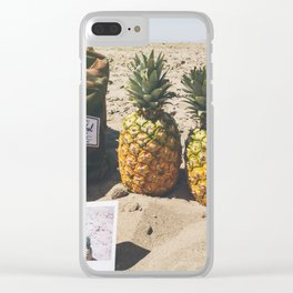 It's A Pineapple Life Clear iPhone Case