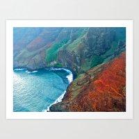 Na'Pali Coast, Kauai Art Print