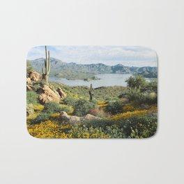 Arizona Blooms Bath Mat