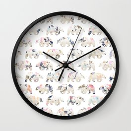 Party Bears Wall Clock