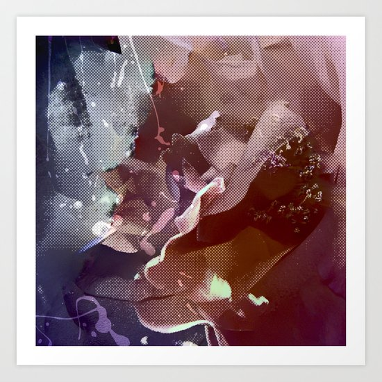 Pop Rose (4) Art Print