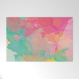 colored explosion Welcome Mat
