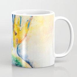Bird Of Paradise Watercolor Art Coffee Mug
