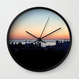Twilight zone Wall Clock