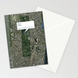 What if Manhattan Was Designed Like Paris? Stationery Cards