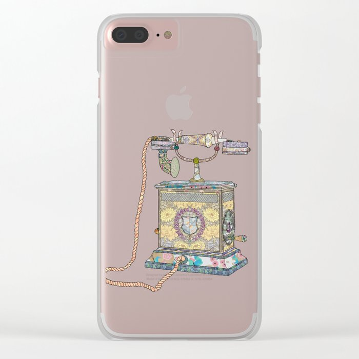 waiting for your call since 1896 Clear iPhone Case