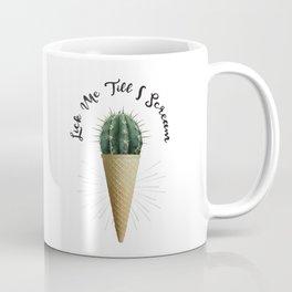 Ice Cream Cactus Lick Me Coffee Mug