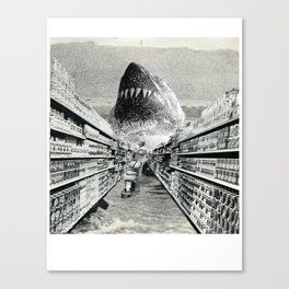Supermarket Sweep Canvas Print
