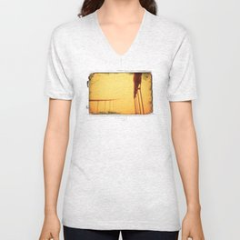Golden - Golden Gate Bridge Unisex V-Neck
