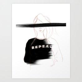 Mná na hÉireann Art Print