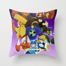 Megaman 2 Throw Pillow