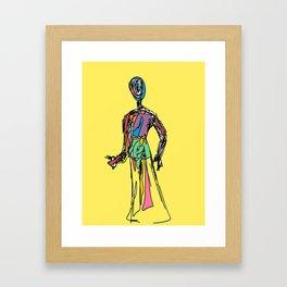 The Doll of Seven Auras Framed Art Print