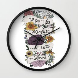 survive Wall Clock