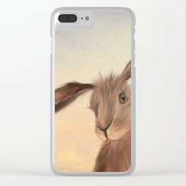 March Hare Clear iPhone Case