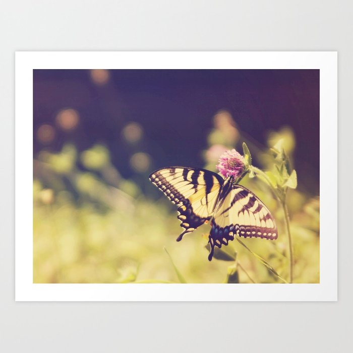 If nothing changed, there'd be no butterflies.~walt disney Art Print