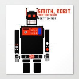 Smith, Robit: (Secret) Agent Edition Canvas Print