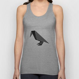 """Collection """"Origami"""" impression """"Raven Paper"""" Unisex Tank Top"""