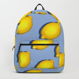 Yellow Lemons Backpack