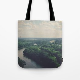 Flying Above St. Paul Tote Bag