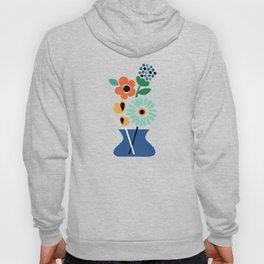 Floral Time Hoody