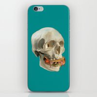 taco iPhone & iPod Skins featuring Death By Taco by Fontolia (Katie Blaker)