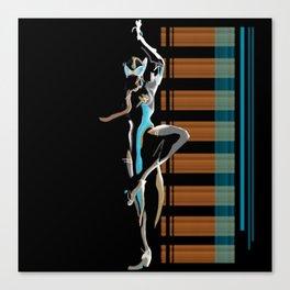 Symmetra Canvas Print