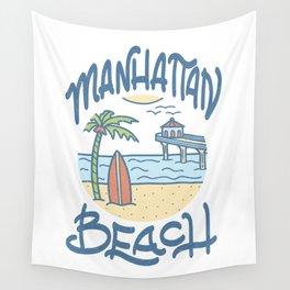 Manhattan Beach Wall Tapestry