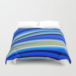 Abstract Fractal Colorways 01BL Duvet Cover