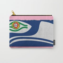 Portuguese Seahawks Hot Pink Carry-All Pouch