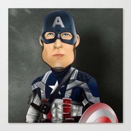 Cap. America Canvas Print