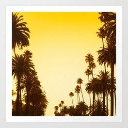 Palm Treess Art Print