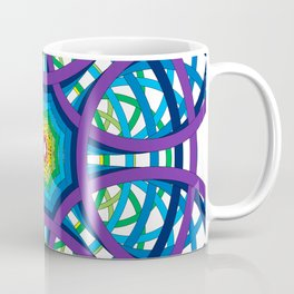Circles to Oblivion in Reverse Coffee Mug