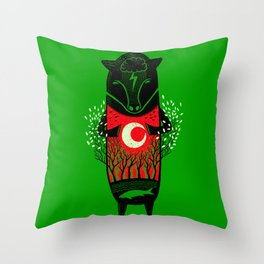 There is life Throw Pillow