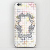 angels iPhone & iPod Skins featuring Angels by FakeFred