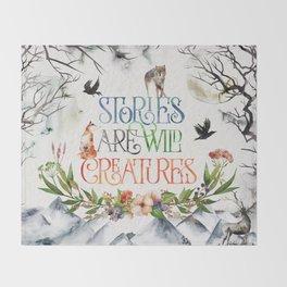 Stories Throw Blanket