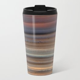 Back Lit Agate lines Travel Mug