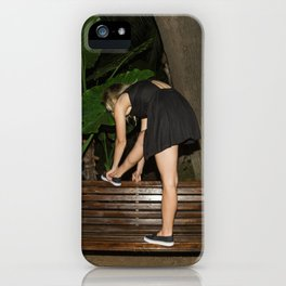 Slow Dancing Society iPhone Case