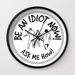 Idioterne Wall Clock