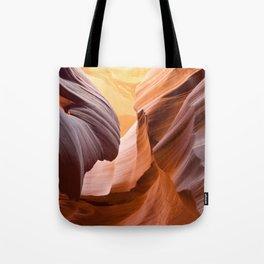 Antelp Canyon Lower Tote Bag