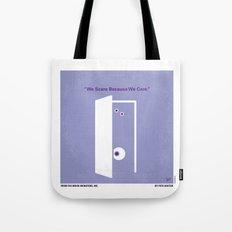 No161 My Monster Inc minimal movie poster Tote Bag