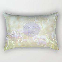 Choose Joy Rectangular Pillow