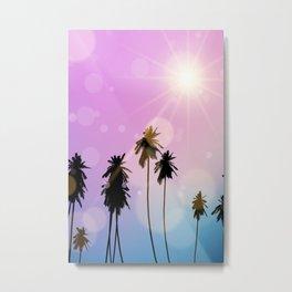 Palm Tree Photography Metal Print