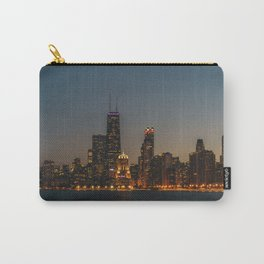 Chicago Skyline from North Avenue Beach Carry-All Pouch