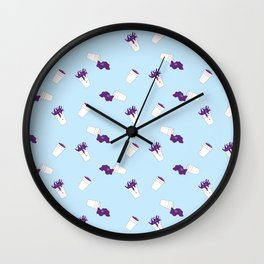 What a Night?!?! Wall Clock