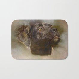 I Love My Perro de Presa Canario Bath Mat