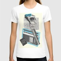 radio T-shirts featuring Radio by collageriittard